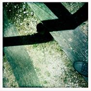 abstracte schaduw